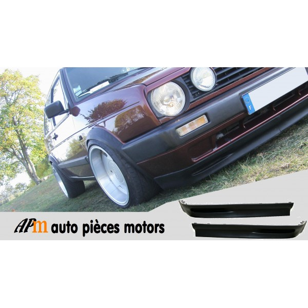 lame spoiler vw golf 2 look gti g60. Black Bedroom Furniture Sets. Home Design Ideas